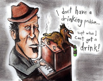 Tom Waits and His Soulful Alcoholic Dog