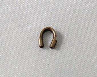4mm Wire Guardians Antique Bronze - 100 pcs