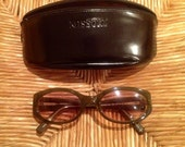 SALE-Vintage 1980's-Early 90's Genuine Missoni Sunglasses Italy