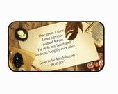 Wedding Iphone 4 case, bride to be iphone case