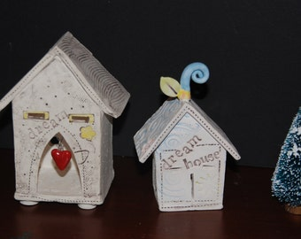 Lucky Charm Ceramic House - Home Is Where The Heart Is