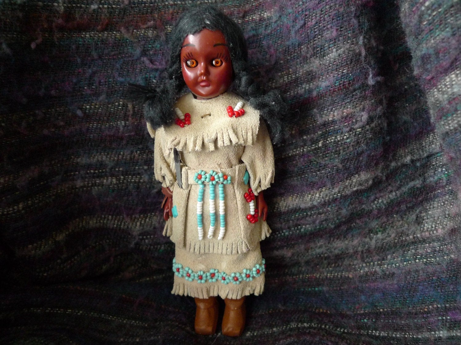 Vintage American Indian Carlson Doll 8 202 Sacagawea Original