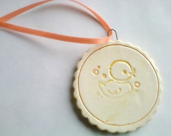 Baby's First Christmas Ornament, Heirloom Ornament, Baby Ornament