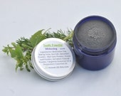 Tooth Powder, Whitening with Activated Charcoal, All Natural Herbal Ingredients, 2 oz Jar