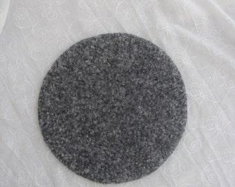 Granite Look Wool Felted Trivet/Hot Pad~Felt Hotpad~Felt Trivet~Granite Look Felt Trivet/Hotpad~Felt Table Protector