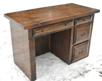 Computer Desk, Rustic, Country, Traditional, Distressed