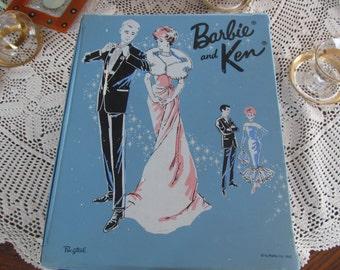 1963 PONYTAIL Barbie and Ken Carrying Case Barbie Wardrobe Trunk Barbie Case
