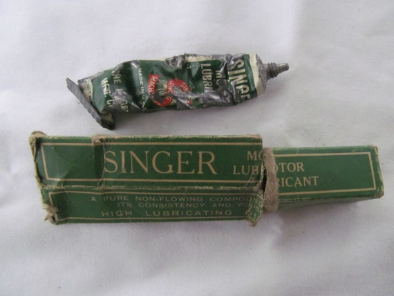 singer sewing machine and lubricant