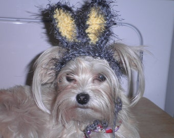 Easter Bunny Ears Hat for Dogs or Cats Halloween Costume X Small or Small