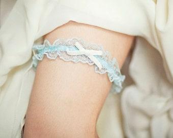 Baby blue bridal garter, Toss Garter, Blue Garter, Blue Bridal Garter, Something Blue Garter, wedding garter
