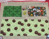 Girl Scout Junior Camp Cot Organizer - Lots of pockets and extras