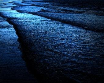 Deep Blue Sea Ocean Photography Sea Purple Picture Print