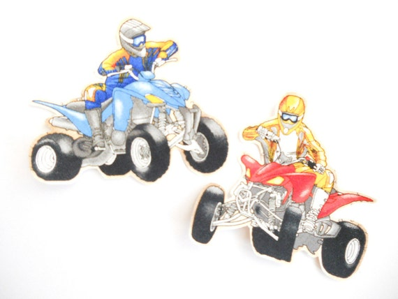 Four Wheeler Clip Art : Cartoon atv clip art