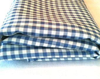 50s, taffeta gingham / vintage fabric / 2 yards