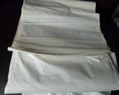 RESERVED for TRAVIS Vintage Metis half linen/flax fabric 80cm wide, for bed linen, clothes etc spring offer 25% off until 15th of March
