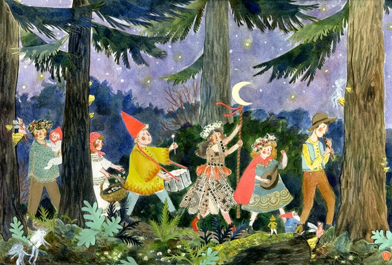Midsummer Parade print