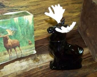 Avon Alaskan Moose Wild Country Cologne Vintage Moose Bottle Vintage Avon Moose