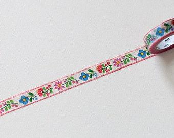 MT Flower Washi Tape