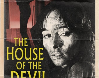 The House of the Devil Movie Poster - 11x17""
