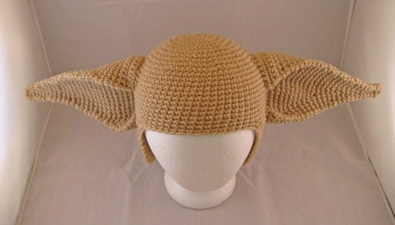 PATTERN: Elf Ears Crochet Hat - Adult from ...
