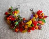 Carmen cha cha fruit jumble bracelet