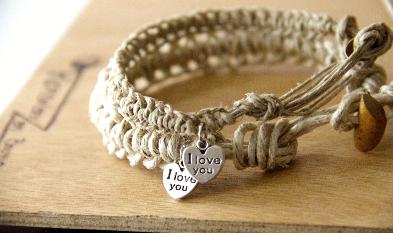 couples bracelets 2 matching bracelets i you by