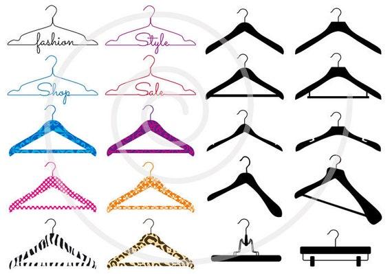 Fashion Clip Art Coat Hanger