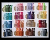 Custom order - 50 sets  of HAIR TIES