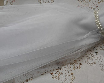 white tulle lace fabric, mesh lace fabric for bridal veil, tutu dress, plain tulle fabric, net fabric