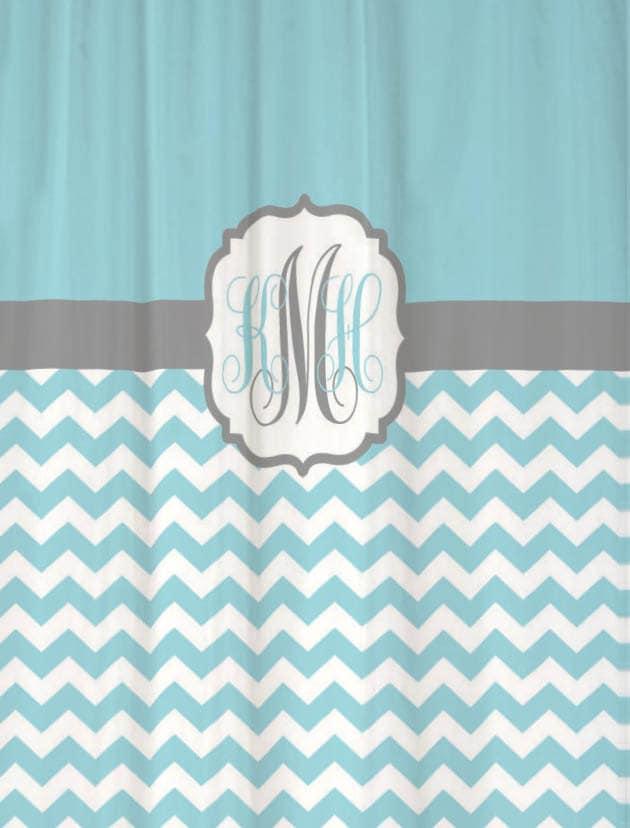 Shower Curtains Half Size