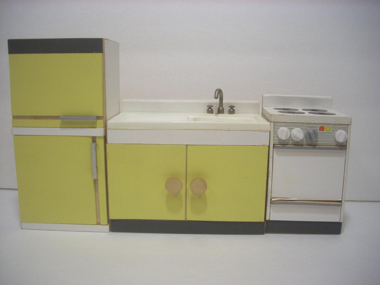 Dollhouse Miniature Kitchen Appliance Set By Boxoftoys On Etsy