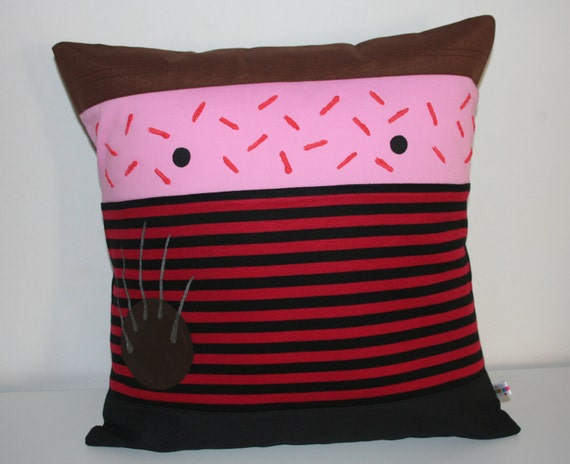 Halloween Freddy Krueger  pillow cushion cover kawaii Terror 40x 40 cm 16 x 16 Inches  nightmare on elm street