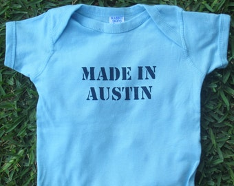 Made in Austin Baby Bodysuit