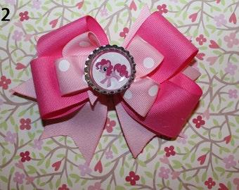 My little pony bow (pinkie pie)