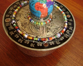 wonderful world upcycled trinket box