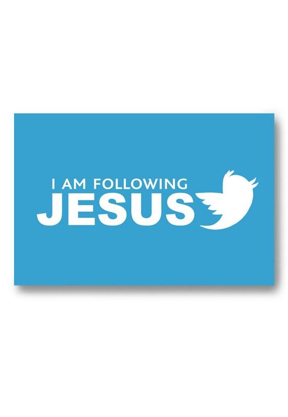 Items Similar To Fridge Magnet Christian Art Jesus