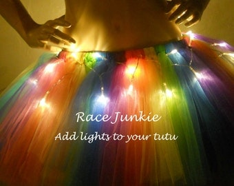 Add lights to your tutu ( tutu must be purchased separately)