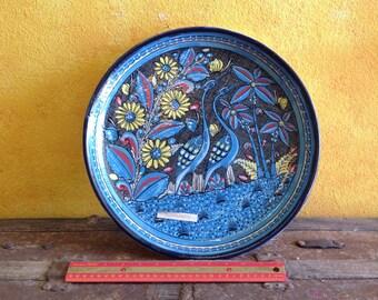 Stoneware Platter by Nochtli, Dolores Hidalgo, Guanajuato, Mexico.