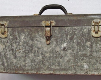 Oversized Vintage Kennedy Tool Box W/ Tray