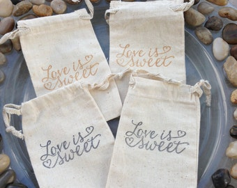 Love is Sweet - BAGS ONLY - Wedding - Bridal - Baby