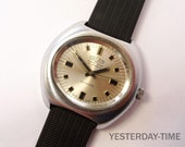 Vulcain Men's Retro Watch 1970's Swiss 17 Jewel Automatic Movement
