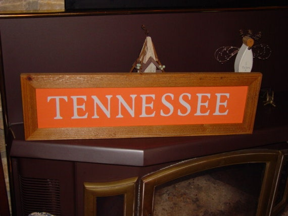 Man Cave Jackson Tennessee : Large tennessee man cave custom lettered solid cedar wood