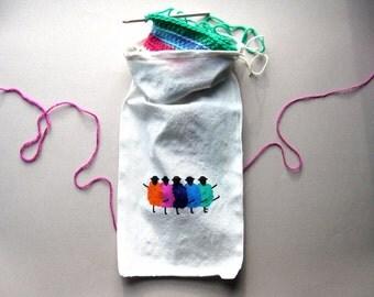 Project bag / drawstring