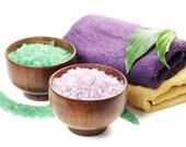 Bath Salts Gift Sets 16 oz. - Eucalyptus Spearmint 8 oz. - Lavender 8 oz. -  Essential Oils -  Aromatherapy Bath Salts - Sea Salt Bath