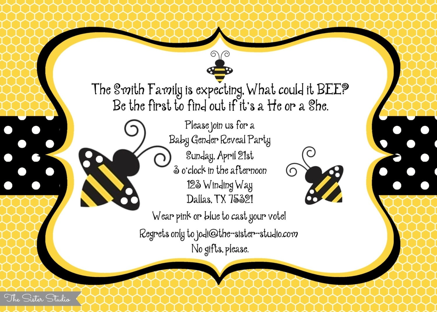 What Will It Bee Invitations