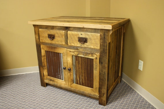 Reclaimed Barnwood 36 Bathroom Vanity By Riverwoodshome On