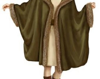 5722 Personalized Poncho Sewing Pattern - Women Poncho, Ladies Clothes, PDF pattern