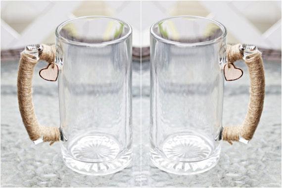 Printed Wedding Mugs : Personalized Wedding Toasting Mugs Custom Rustic Reception Shabby ...