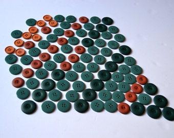 Vintage Buttons Mix 100