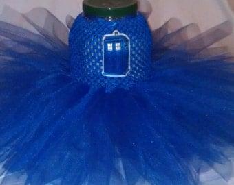 Made to Order Doctor Who TARDIS Tutu Dress